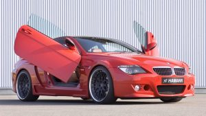 Tunned-Bmw-Red