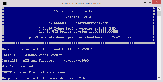 How to Install ADB and Fastboot on Windows 2