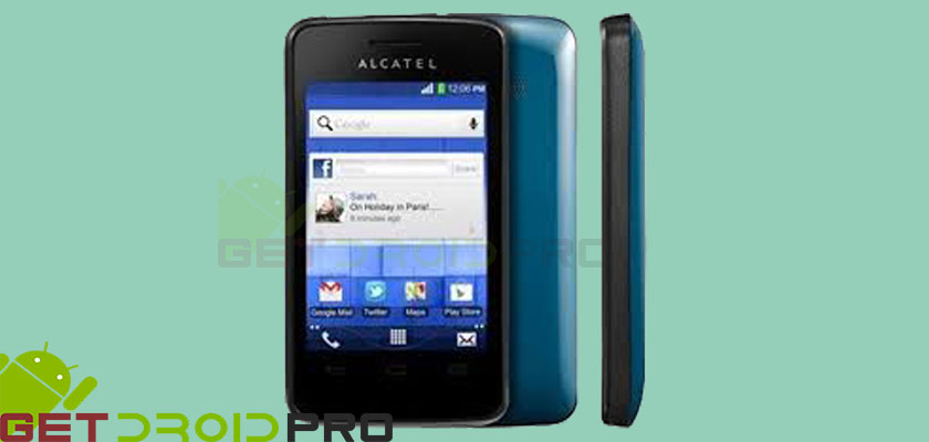 hot to install firmware on alcatel one touch pixi