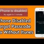 How to unlock any locked iPhone without iTunes